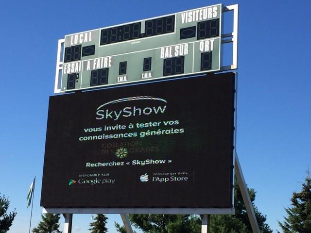 Skyshow-Université de Sherbrooke