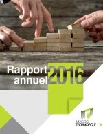 Rapport annuel 2016 - Magog Technopole - Levier de développement économique