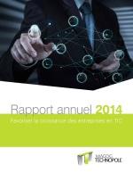 Rapport annuel 2014 - Magog Technopole - Levier de développement économique