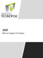 Rapport annuel 2020 - Magog Technopole - Levier de développement économique